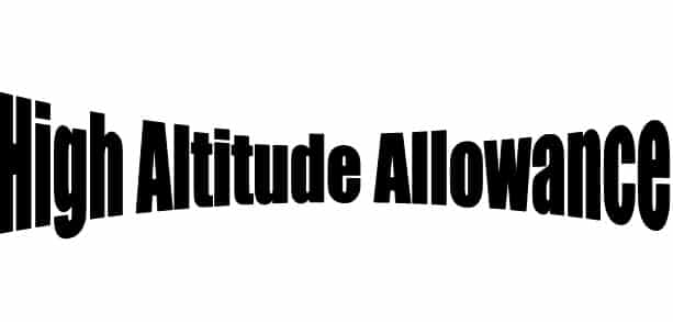 High Altitude Allowance Rules For Indian Army & ITBP