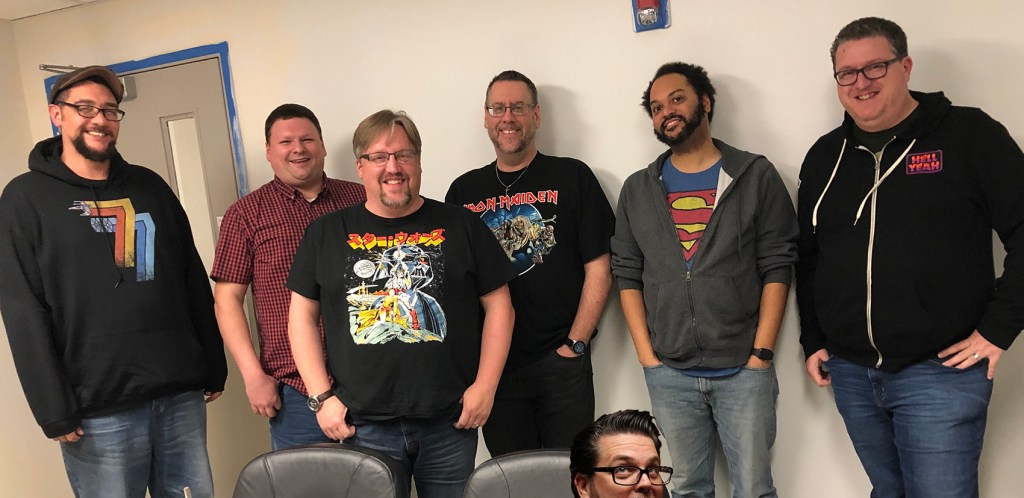 7x7 Comics Season 3 Creators - Meetup at New Dimension Comics