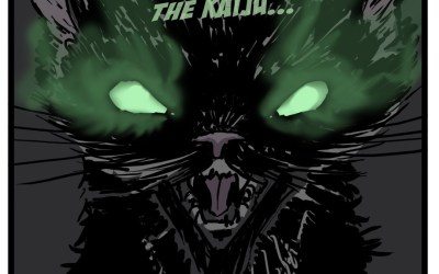 Kaiju Kitty 20: Masquerades as a Monster