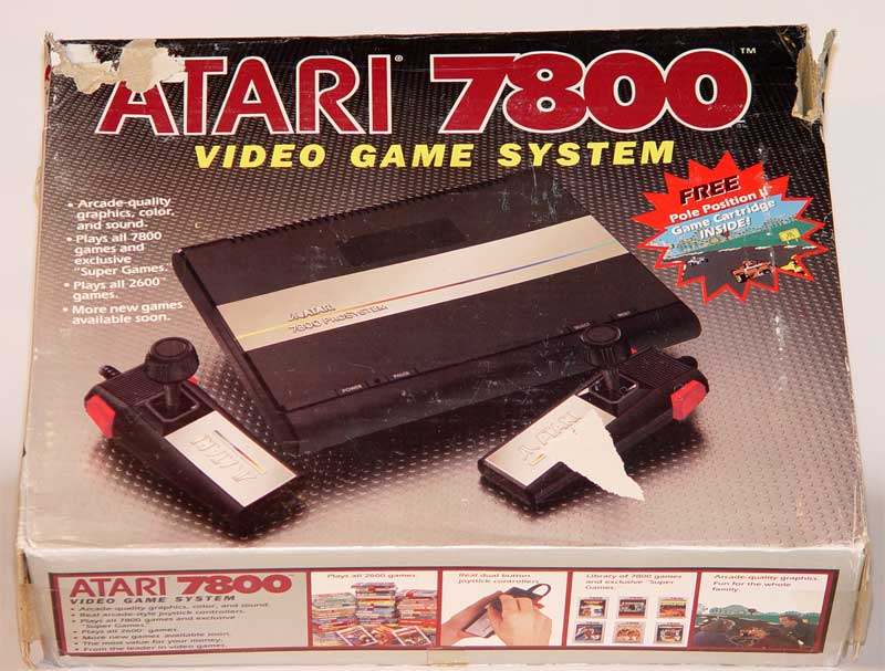 Image result for atari 7800 original box