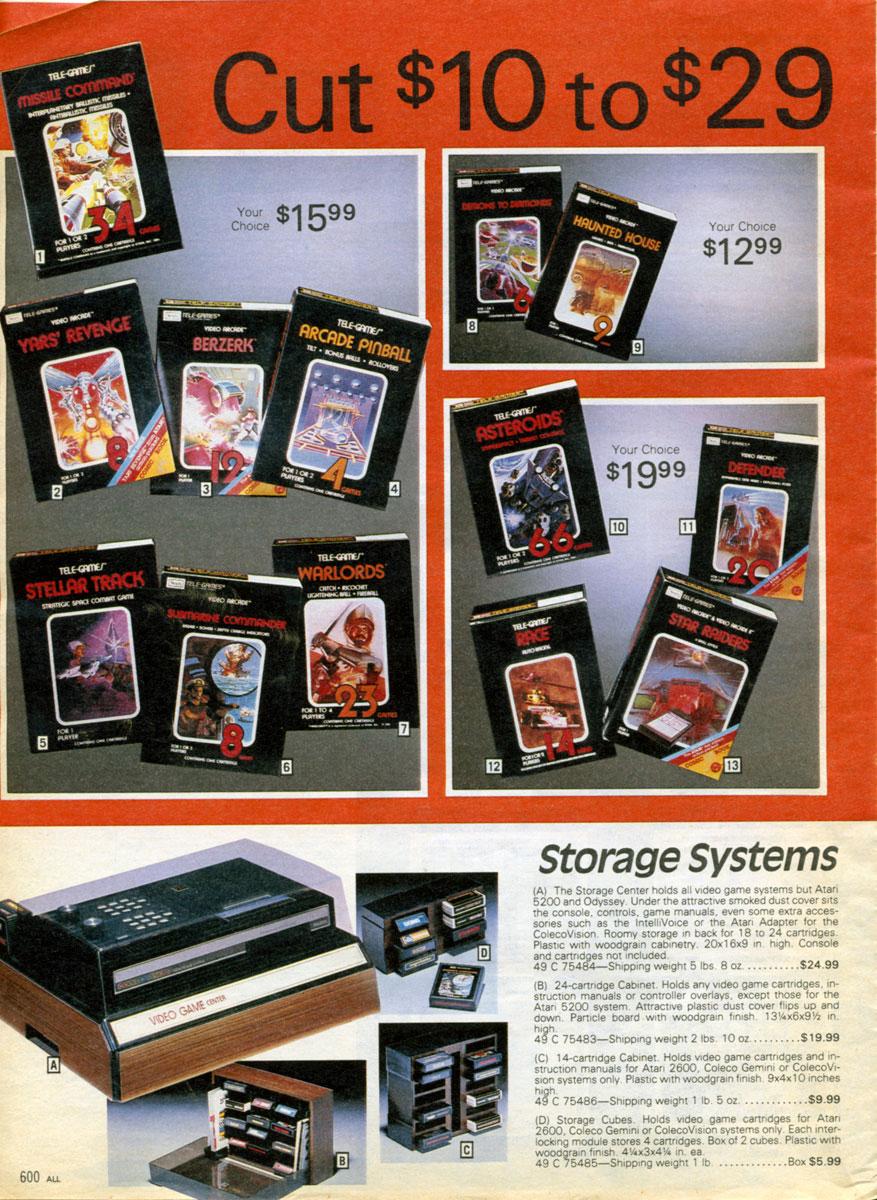 1982 Sears Christmas Catalog