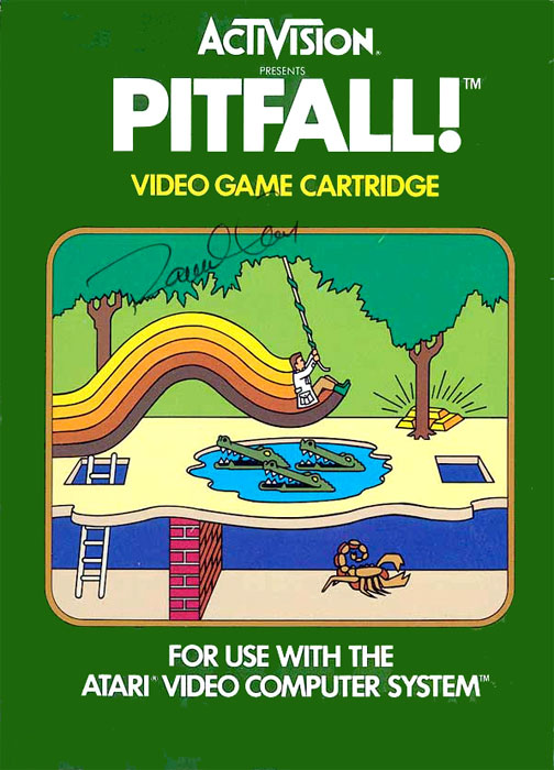 Game review: #Activision Pitfall! for Atari 2600