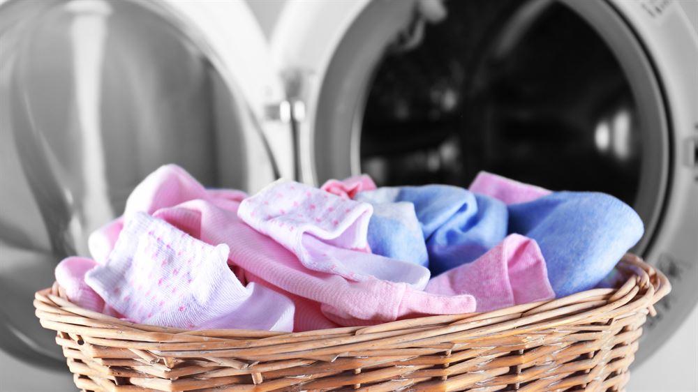 Husk å lukke glidelåsen før vask