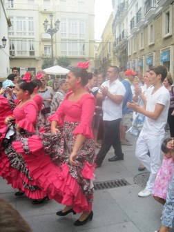 Saint's Day Celebration in Cadiz