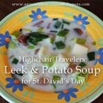 Leek soup poster copy