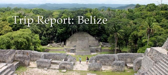 Trip Report: Belize 2017