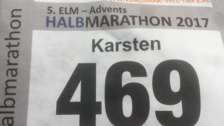 Einmal durch die Hölle – 5. Elm-Advents-Halbmarathon