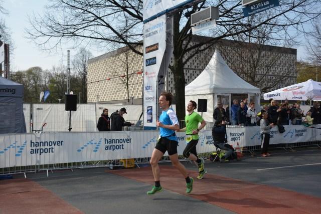 HAJ Marathon Hannover 2017 - Zieleinlauf