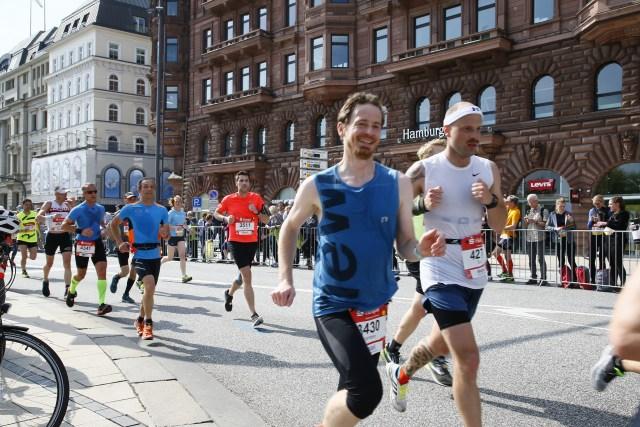 HASPA Marathon Hamburg 2018 - Jungfernstieg