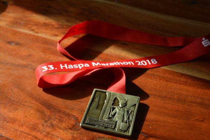 HASPA Marathon 2018 - Die Medaille