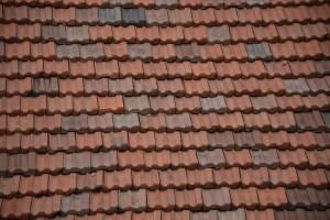 Dachziegel in Bergamo
