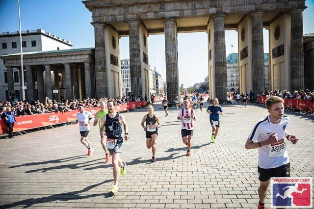 Jetzt ist das Ziel ganz nah - Berliner Halbmarathon 2019