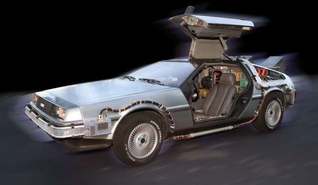 1. Delorean Time Machine