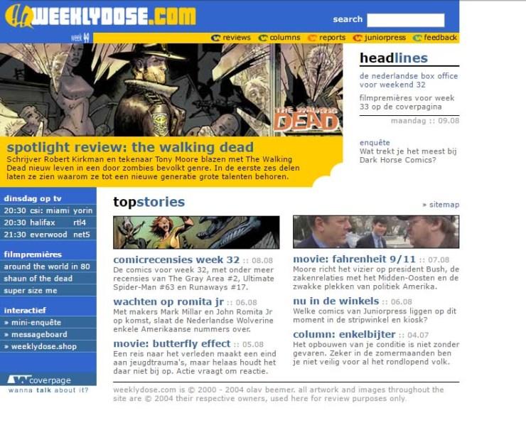 weeklydose website