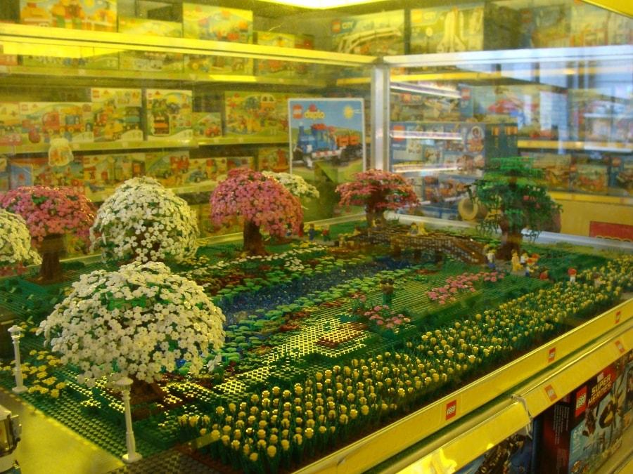 LEGO diorama Tulpen nederland