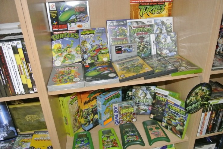 Teenage Mutant Ninja Turtles Shelfporn