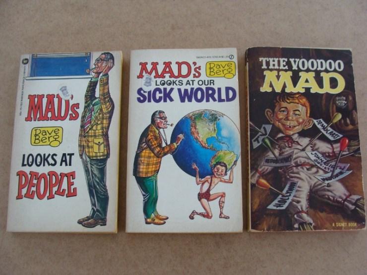 MAD classic magazines