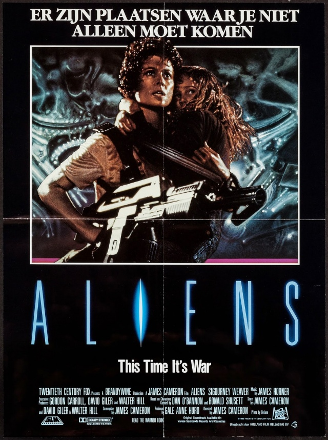 Aliens 1986 Movie poster