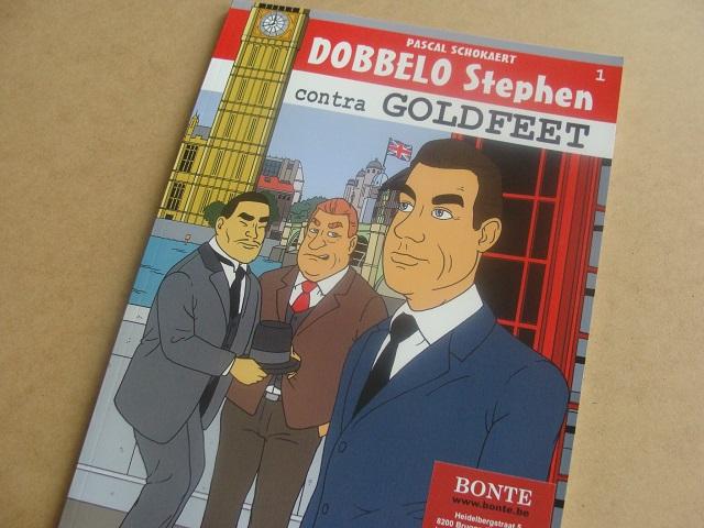 Bonte Uitgeverij Dobbelo Stephen Contra Goldfleet Pascal Schokaert