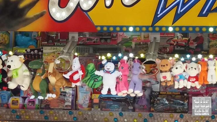 Kermis straatbeeld Ghostbusters