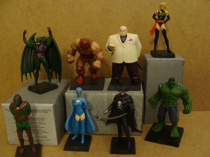 Eaglemoss Marvel facts 2017 haul