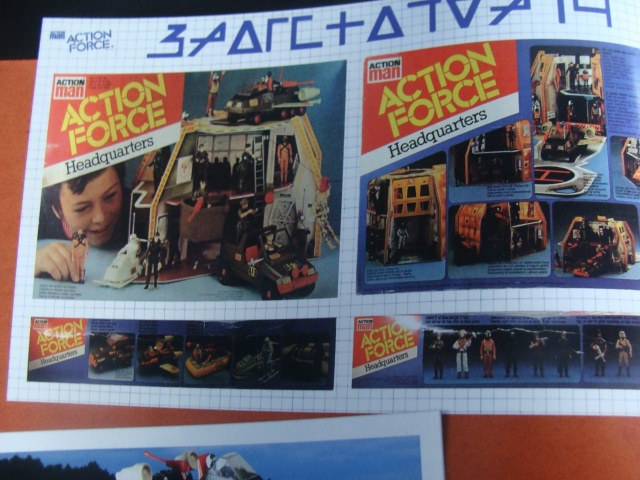 Palitoy Action Force Headquarters interior