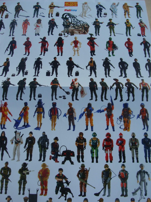 Action Force Palitoy poster