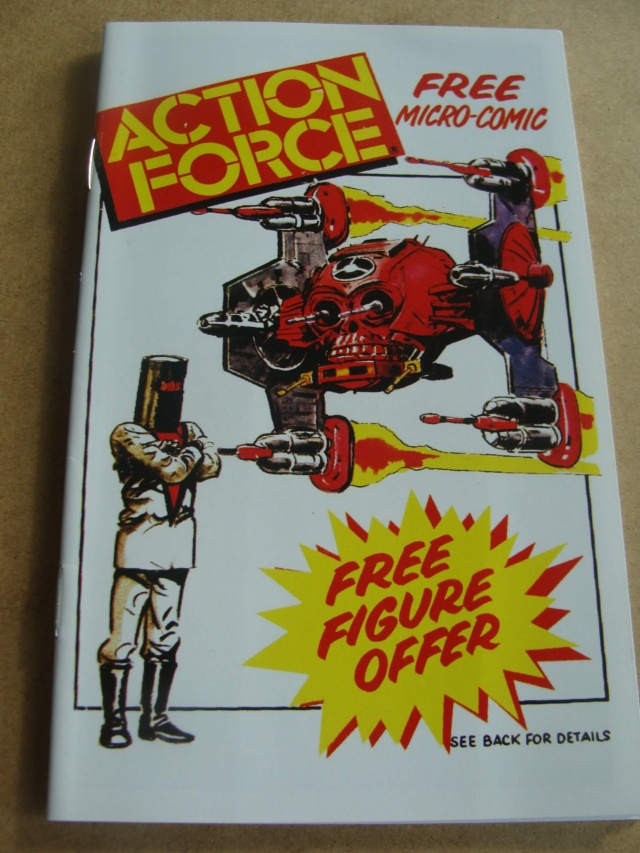 Palitoy Mini Comic Action Force
