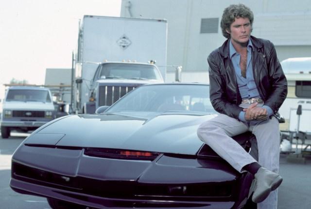 Michael Knight Kitt Knight Rider