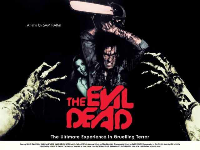The Evil Dead Bruce Cambell Sam Raimi