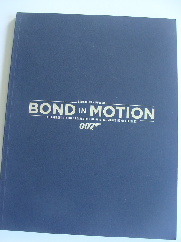 Bond In Motion Souvenir Guide