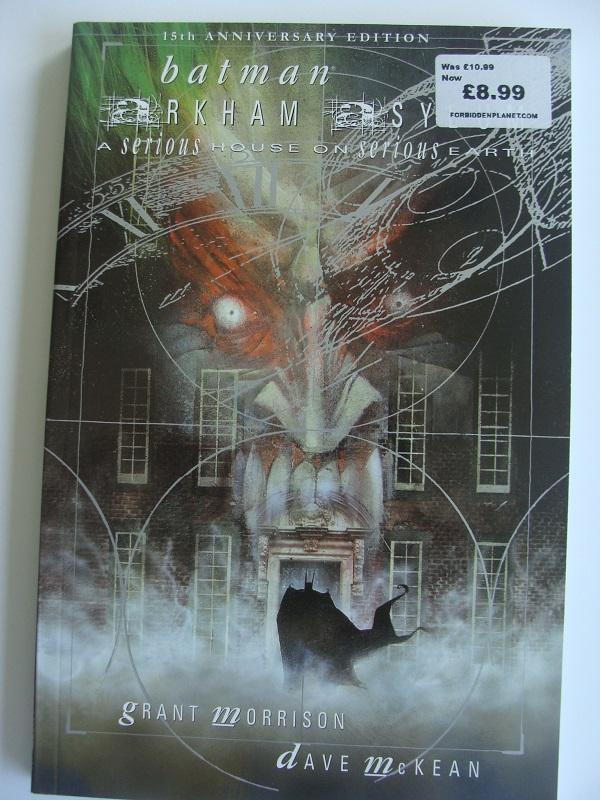 Batman Arkham Asylum leesstapel
