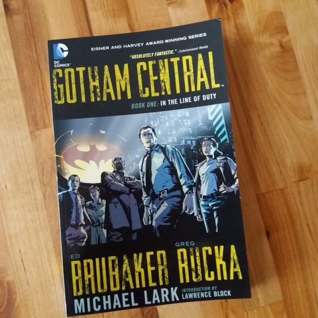 Gotham Central Brubaker