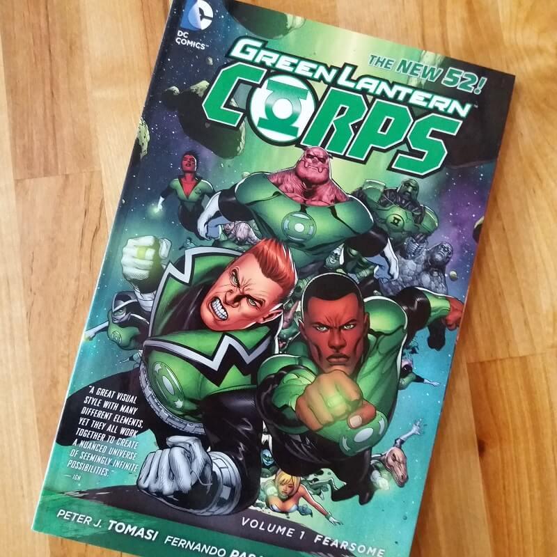 Green Lantern Corps DC
