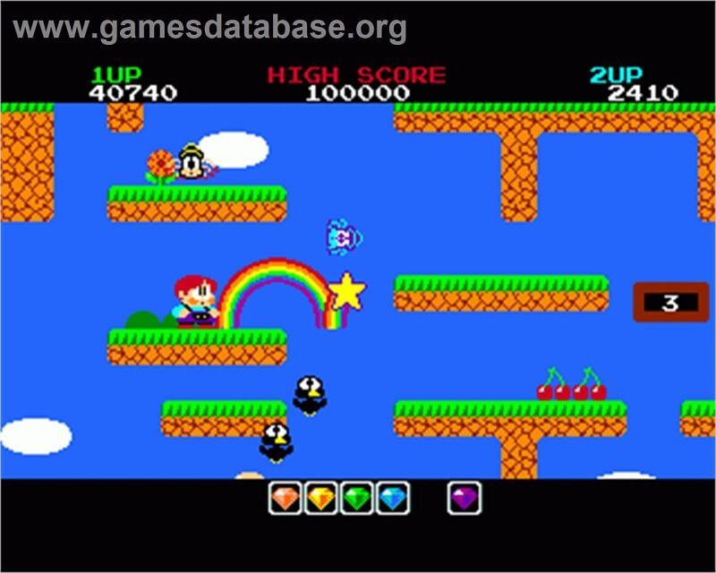 Rainbow islands Commodore Amiga