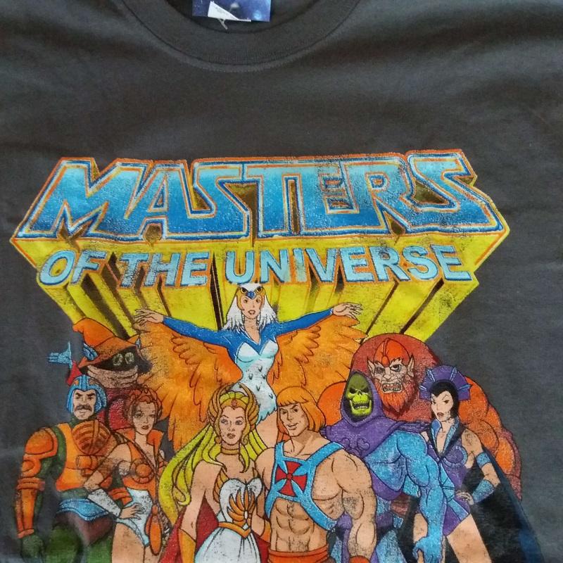 Masters Of the Universe T-shirt Dirtees MOTU