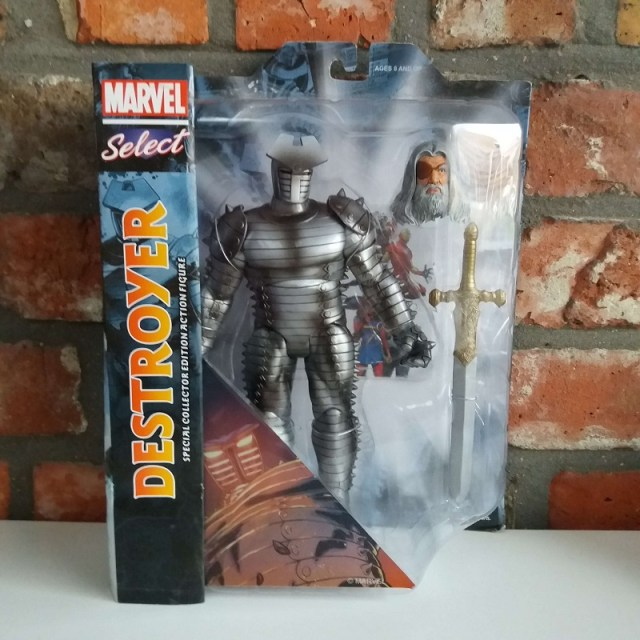 facts 2018 haul marvel select destroyer