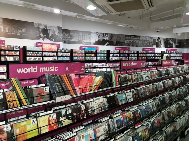 London Shopping HMV Oxford Street