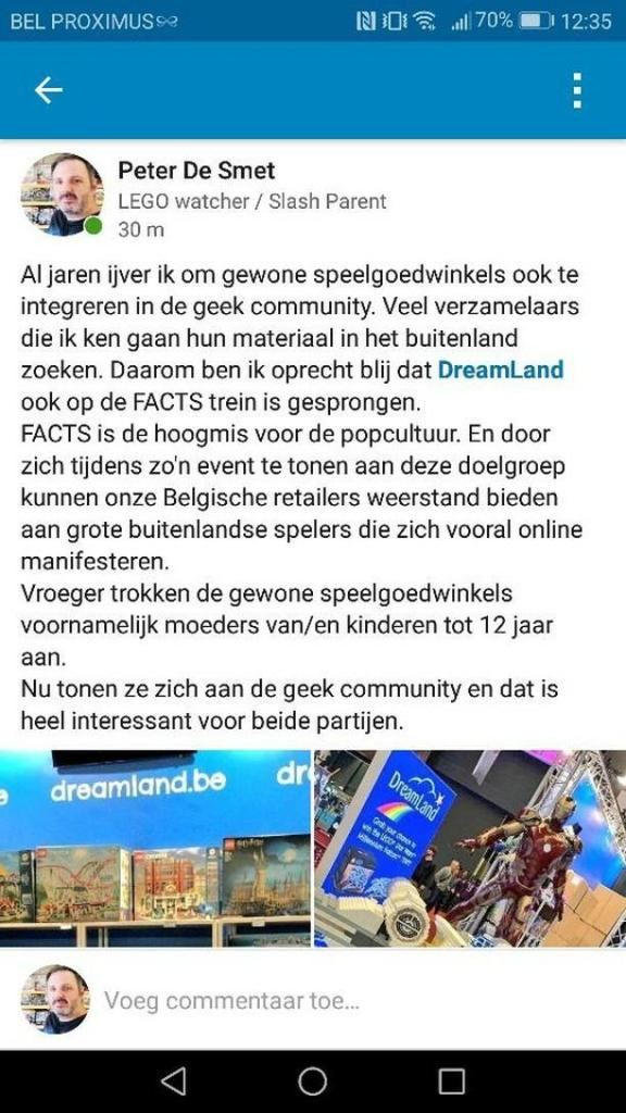Dreamland op facts 2019