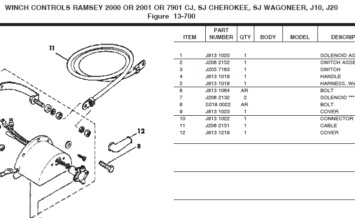 Winch Solenoid Wiring Diagram Additionally Ramsey Hydraulic Winch