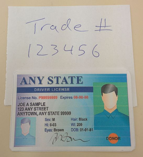 ID-trade-number