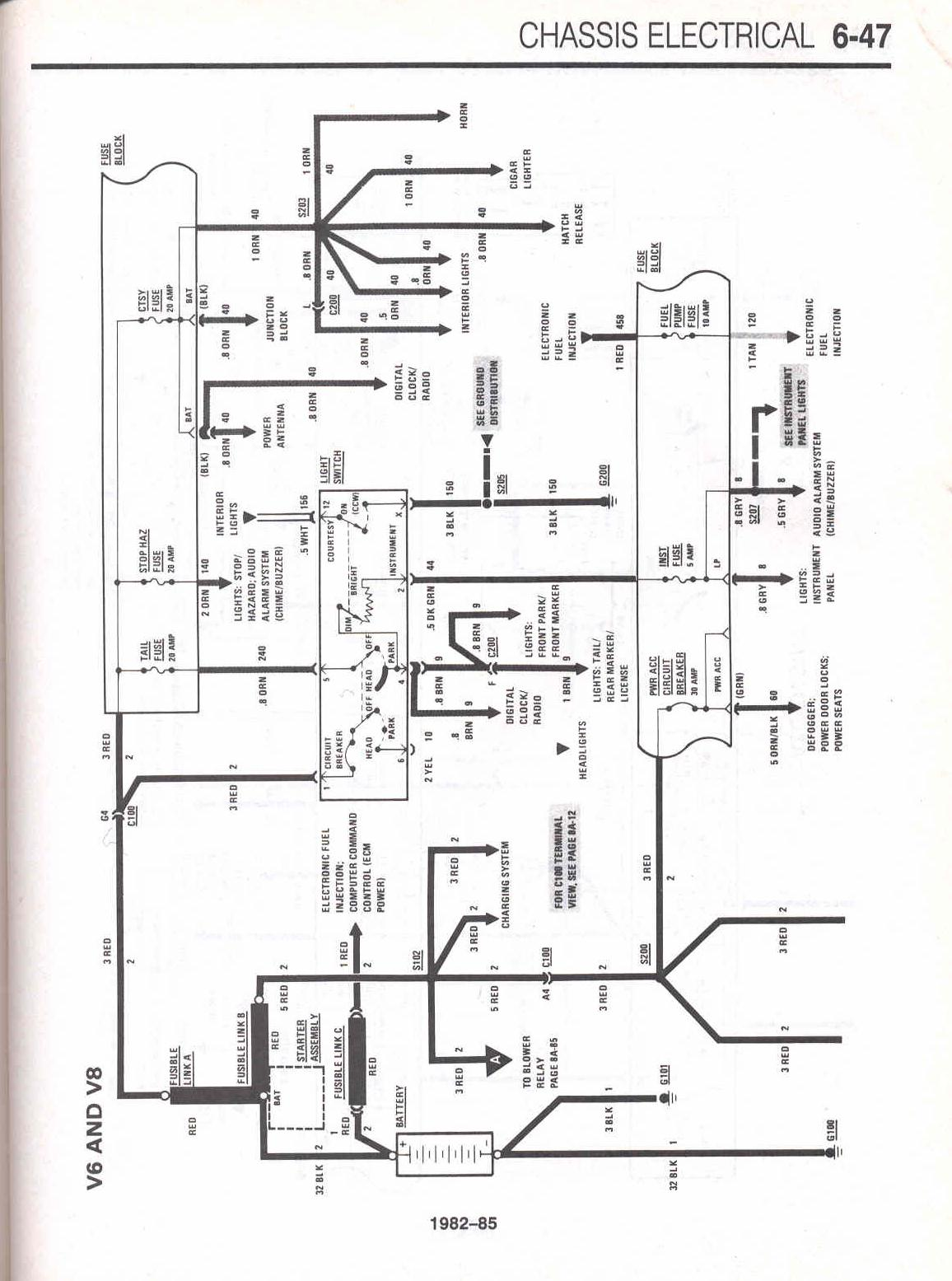 85 Corvette Coil Diagram