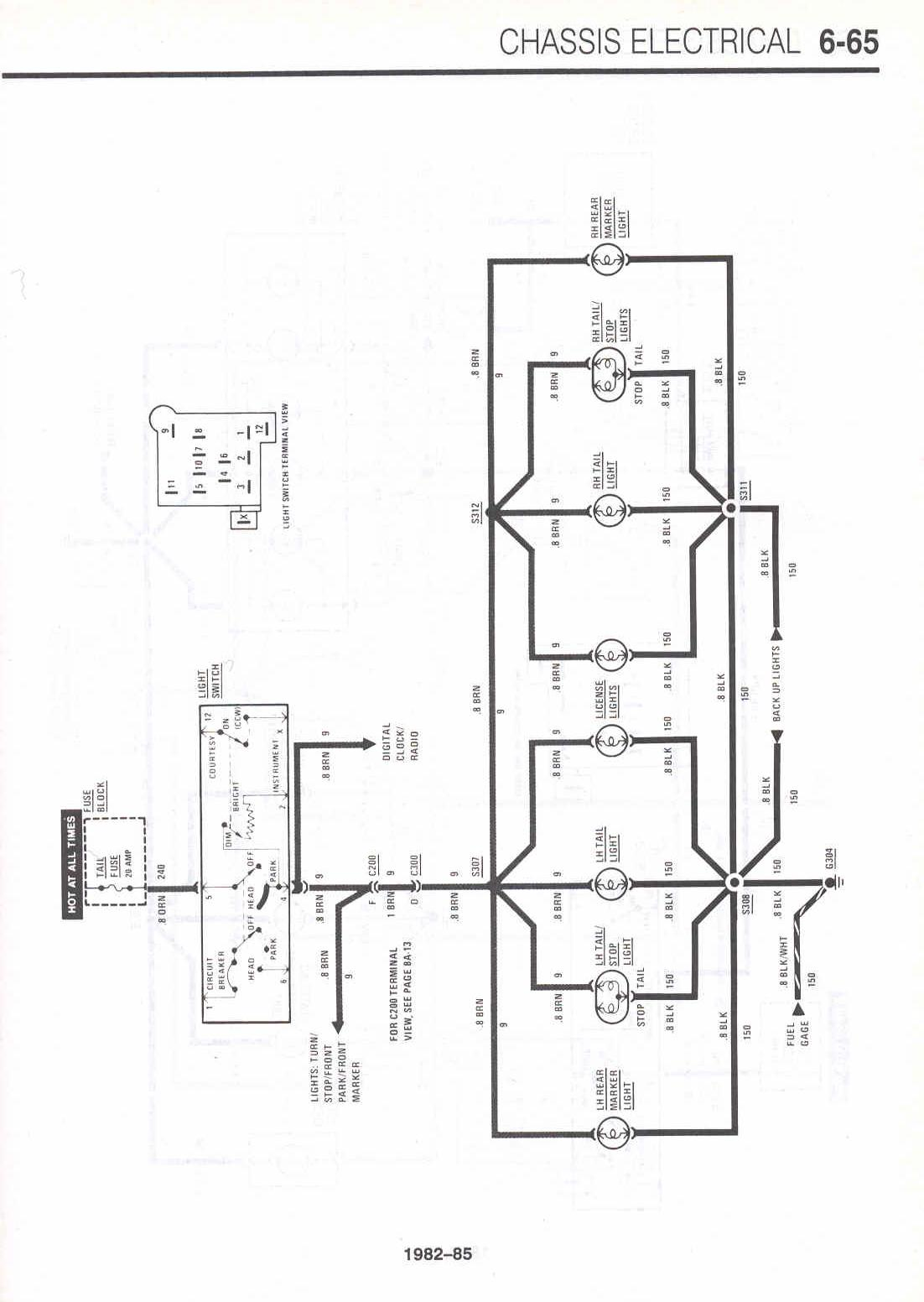 Camaro Alternator Wiring Diagram