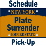 Plate Surrender Pick up