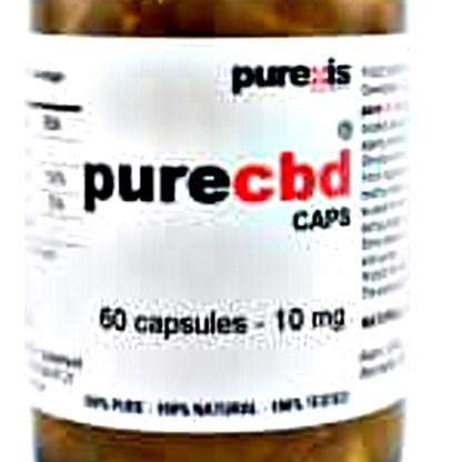 PureCBD 10, 60 capsules
