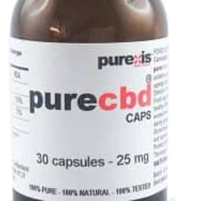 PureCBD 25, 30 capsules