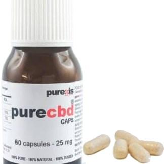 PureCBD 25, 60 capsules