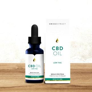 SwissExtract, CBD oil, Low THC