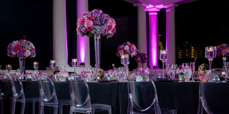 Hyatt Ziva Jamaica Wedding Uplighting 876 sounds