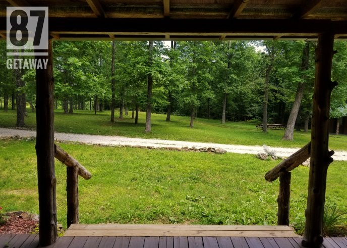 A view off the front porch